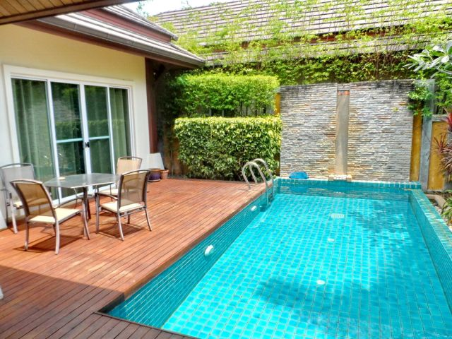 Rawai Baliness Pool Villa For Long Term Rental