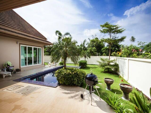 Nai harn 3 bedroom with pool and garden