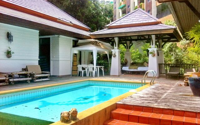Baliness villa with 2 bedrooms and swimming pool - Rawai