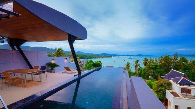 Rawai Luxury 3 bedrooms villa with sea view
