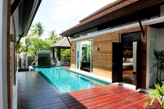 Nai Harn Luxury Pool Villa With 3 Bedrooms - 1 maid room ensuite bathroom