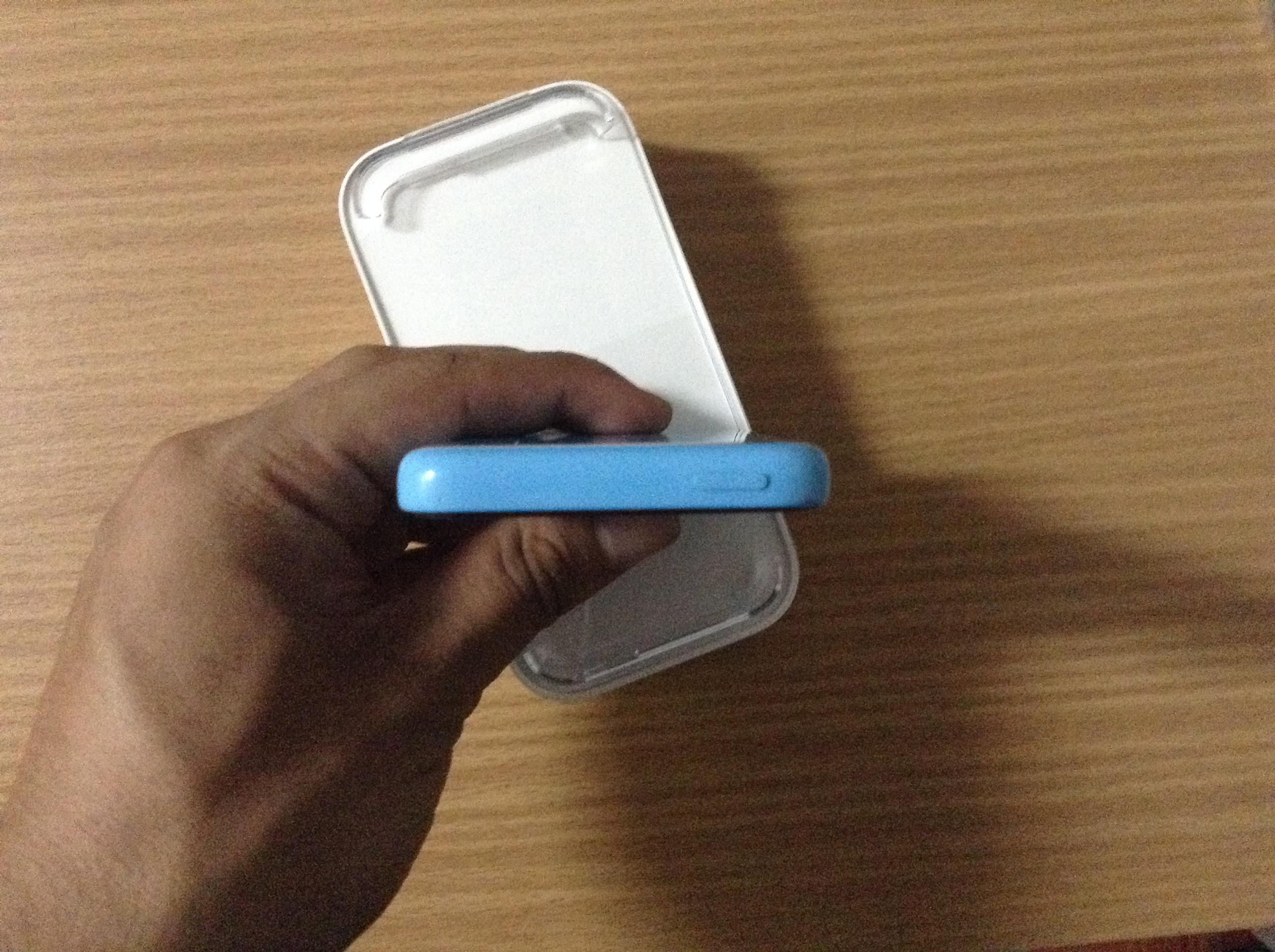 ขาย iPhone 5c สีฟ้า ราคาถูกๆ