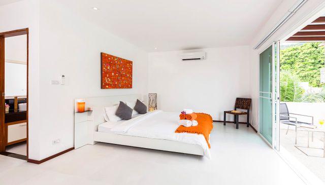Modern pool villas 3 bedroom with stunning sea view in Rawai18.5M