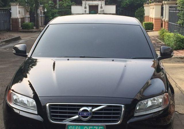 ขายรถยนต์ป้ายเขียว วอลโว่่ S80 2.5 FT ปี 2011 LPG