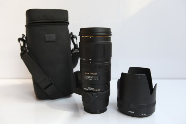 Lens Sigma 70-200mm F2.8 EX DG APO OS HSM for sony