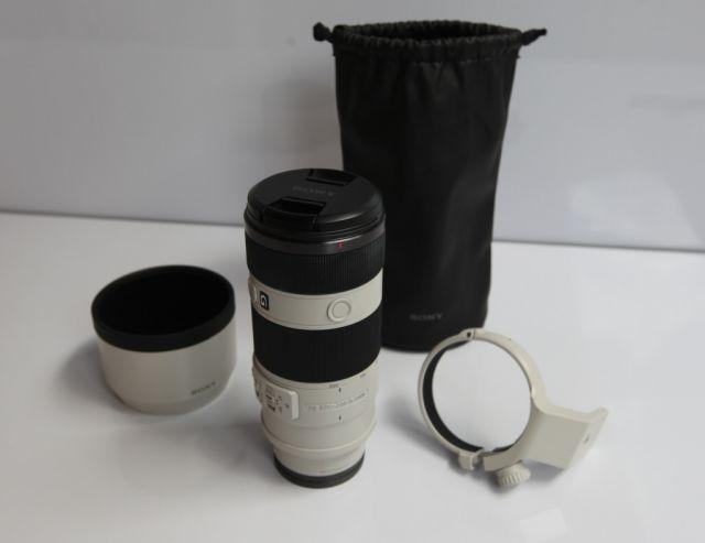 Sony lens, FE 70-200 F4 G White