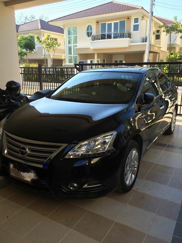 Nissan sylphy 1.6 V vct ปี2013