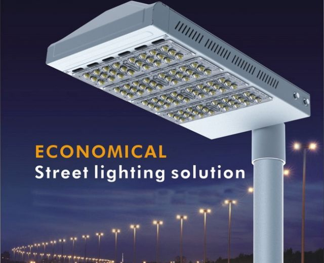 โคมไฟ LED Streetlight 1-5 Module 40-200w