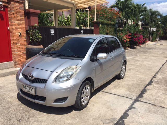 ขายรถบ้าน Toyota Yaris 1.5E ปี 2009