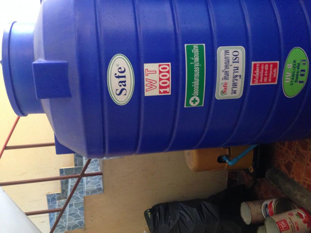 ปั๊มนำ้พร้อมถัง1000ลิตร2ถัง