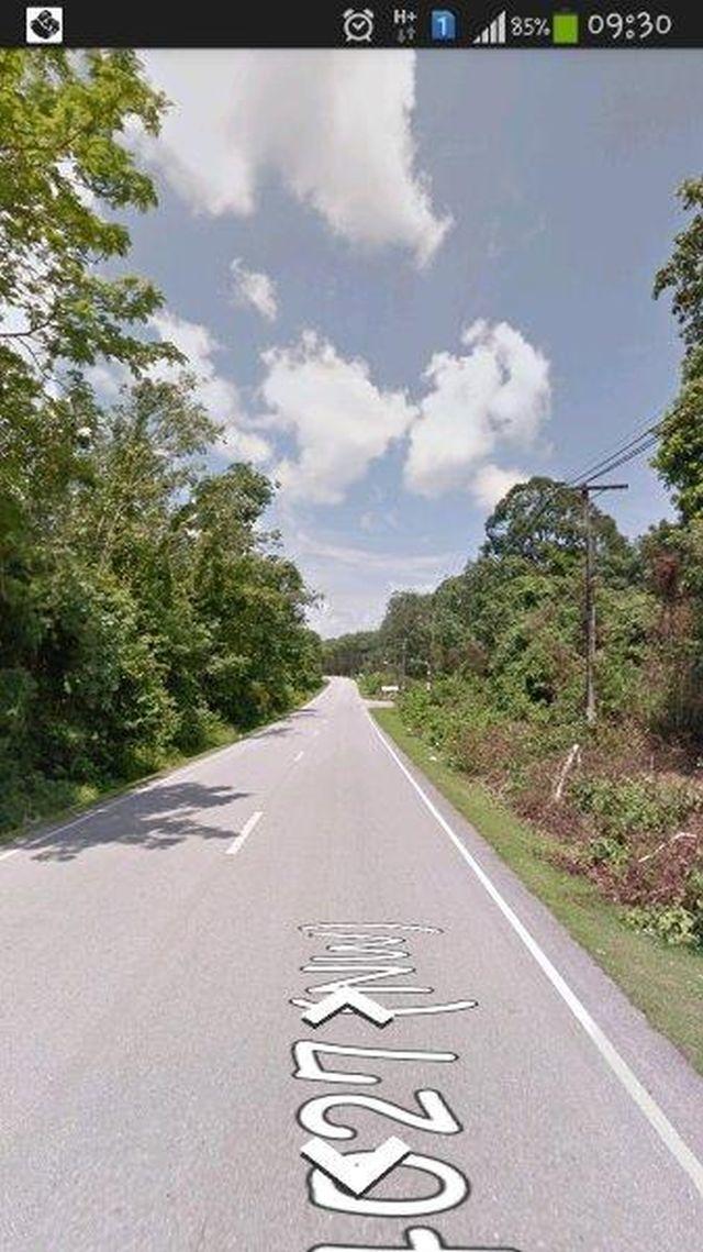 ขายที่ดินหน้าติดถนนท่าเรื่อ - เมืองใหม่ ( ป่าคลอก ) เนื้อที่ 2 ไร่ ขายเหมา 12 ล้านบาท
