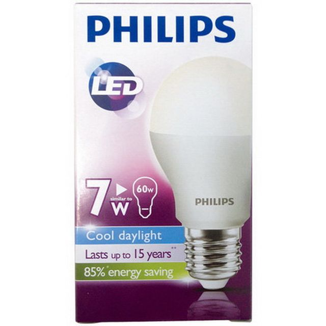 ขายหลอด LED Bulb Philips 7w ราคาส่ง 75 บาท รับประกัน 2 ปี
