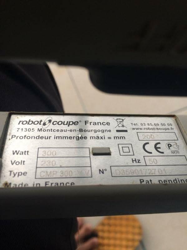 เครื่องปั่นมือrobotcoupe 300vv