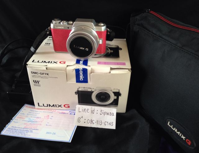 ขายกล้อง Lumix GF7 สีชมพู