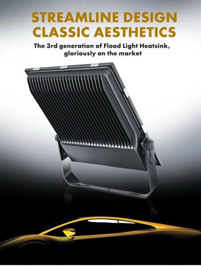 โคมสปอร์ตไลท์Super Slim LED Flood Light 50W-200W