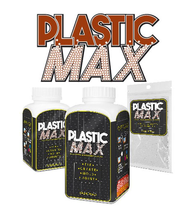 Plasticmax พลาสติกมหัศจรรย์ปั้นได้เหมือนดินน้ำมัน แต่เป็นพลาสติก