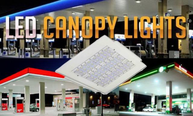 ขอนำเสนอโคมไฟสปอร์ตไลท์ LED Canopy Light ทางเลือกใหม่ของหลอดไฟประหยัดพลังงาน