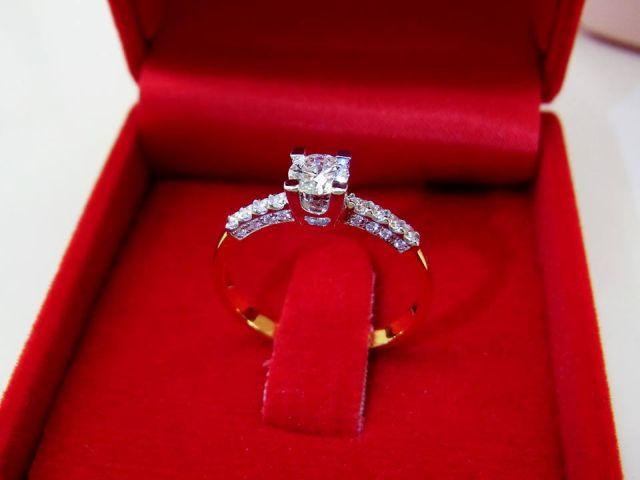 แหวนเพชรแท้ ห้างเพชรกาญจน์  34000