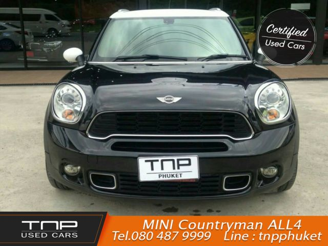 MINI COOPER S COUNTRYMAN 2012 ดำขาว