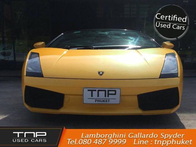 Lamborghini Gallardo Spyder ปี2009