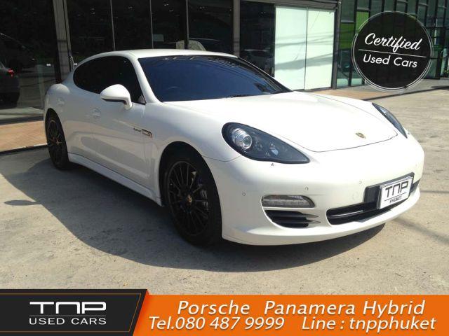 Porsche Panamera HYBRID ปี2013 สีขาว