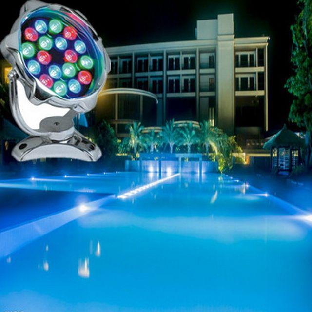 ขายส่งโคมไฟ LED ส่องต้นไม้ ไฟใต้นํ้า ไฟสระว่ายน้ำ ไฟประดับใต้นํ้าพุ