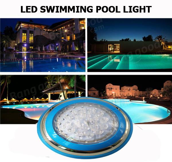 โคมไฟ LED ติดผนังสระว่ายน้ำ Pool Light