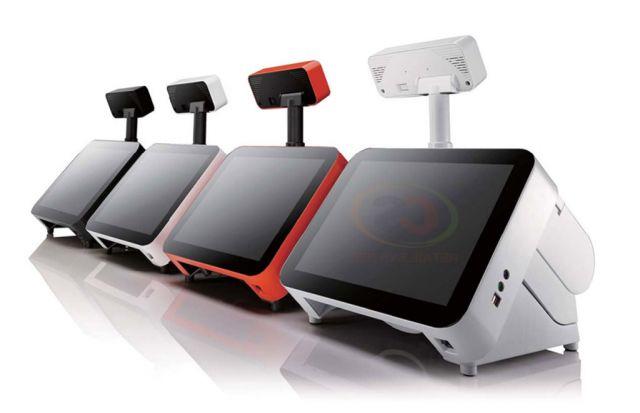 เครื่อง POS Terminal POP-950i All in one POS system 15 Touch Screen  CPU Core i5