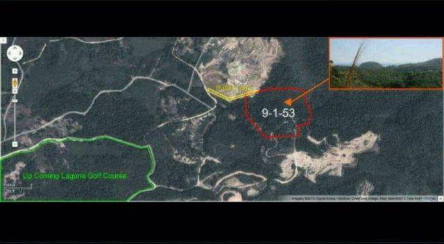 ขายที่ดินถลางซีวิว ในซ.ลายัน 1 ภูเก็ต เนื้อที่ 9 ไร่เศ ษ ขาย 3 ล้านต่อไร่