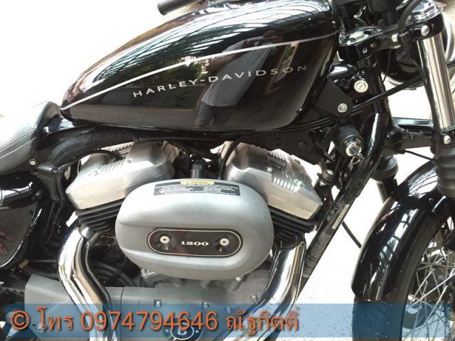 ขาย HD sportster nightster 1200 CC ปี2009 สีดำ