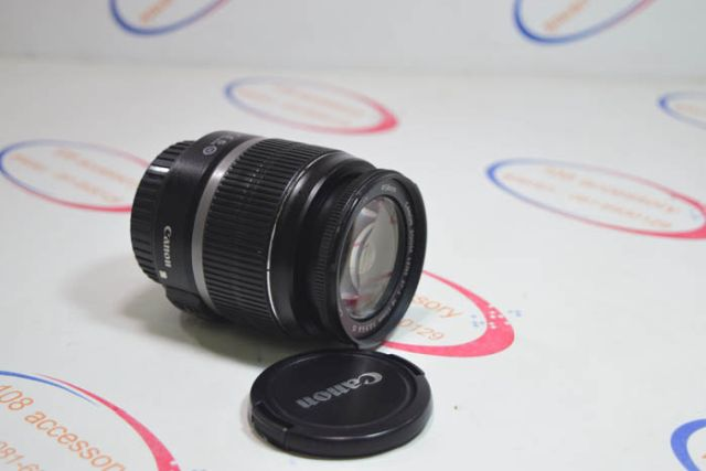 เลนส์ คิท Canon EF-S 18-55mm IS Kit สภาพสวยใสกริ๊บ พร้อมฟิวเตอร์ อดีต ปกศ.