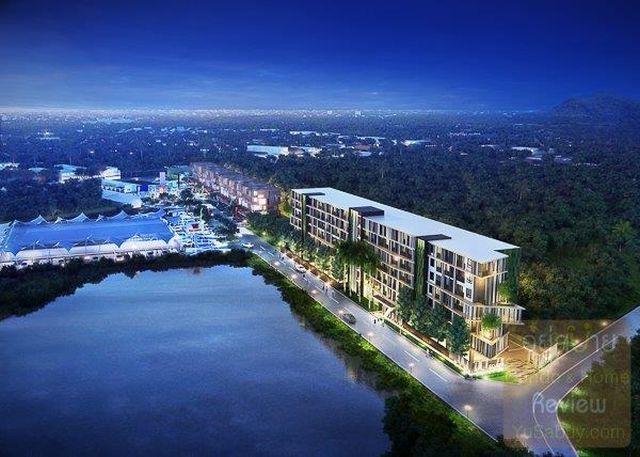 ขายห้องชุดในคอนโด Zcape X2 ในซอยของ Boat Avenue พร้อมตกแต่ง ขาย 2.39 ล้าน