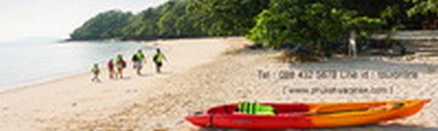 ทัวร์ภูเก็ต เที่ยวหาดกล้วย เกาะเฮ เต็มวัน โดยเรือเร็ว