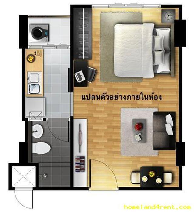 ขายห้องชุดกะทู้ ในดีคอนโด ไมน์ ภูเก็ต ชั้นที่.5 วิว DUTY FREE ขาย1.69 ล้าน