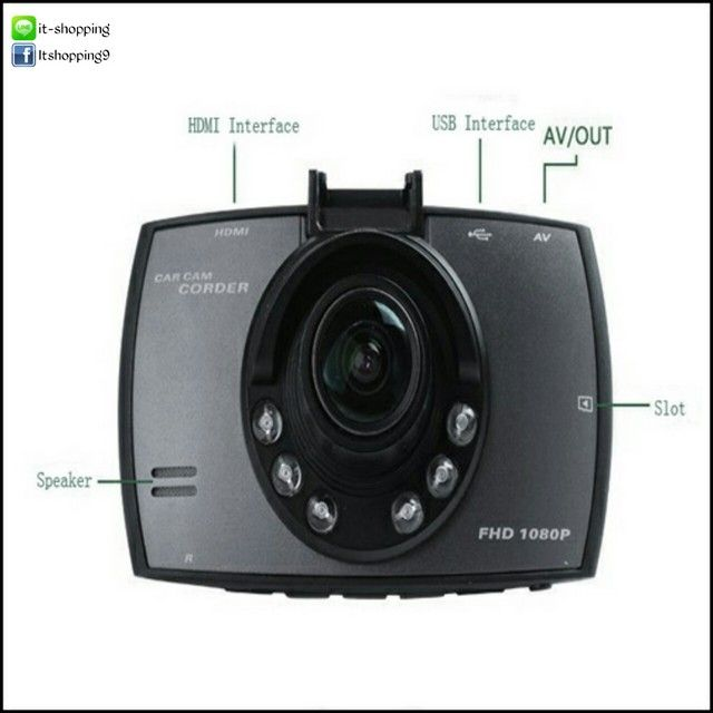 กล้องติดหน้ารถ รุ่น G30C คมชัดระดับ Full HD ในราคาหลักร้อย