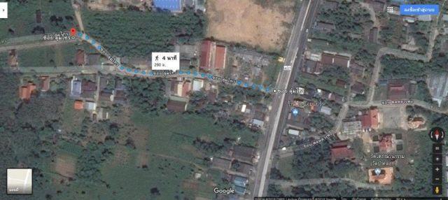 ขายที่ดินถลางในซอยลุ่มไทร(ทางเข้าเยื้องวัดป่าคลอก)vเนื้อที่ 95.4 ขาย 1.8 ล้าน