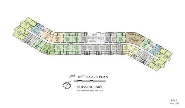 ขายห้องชุดศุภาลัยปาร์คดาวน์ทาวน์ เมืองภูเก็ต เนื้อที่ 33.56 ตร.ม ขาย 1.39 ล้าน