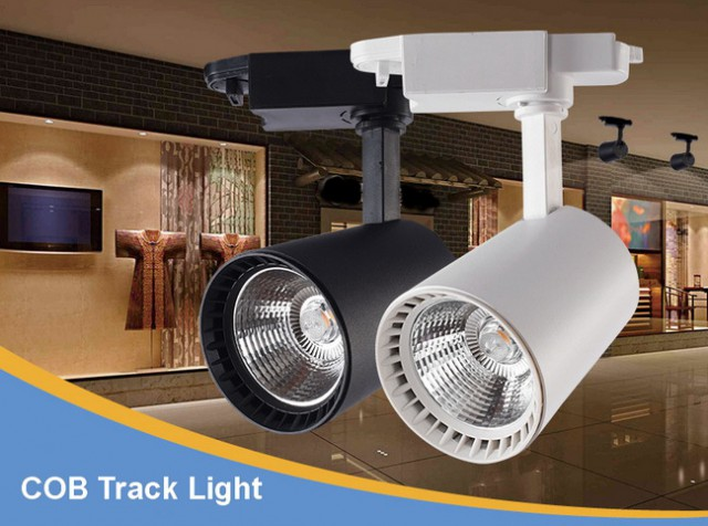 โคมไฟ COB LED Track Light