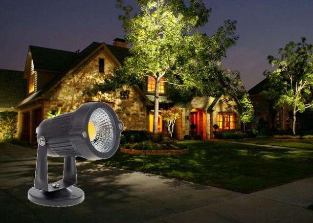 โคมไฟ LED ตกแต่งสวน สระนํ้าฯ