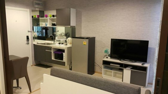 KT-0029 -คอนโดเช่า ZcapeIII ห้องสวยมี 1 ห้องนอน 1 ห้องน้ำ 1 ห้องครัว