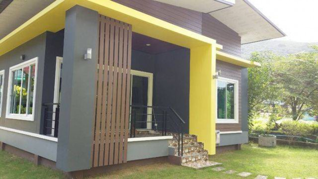 KML-0001 -บ้านเดี่ยวชั้นเดียวมีบริเวณบ้านให้เช่า มี 2 ห้องนอน 1 ห้องน้ำ