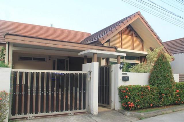 BR-0003 -บ้านเดี่ยวชั้นเดียวให้เช่า มี 3 ห้องนอน 2 ห้องน้ำ 1 ห้องครัว 1 ที่จอดรถ