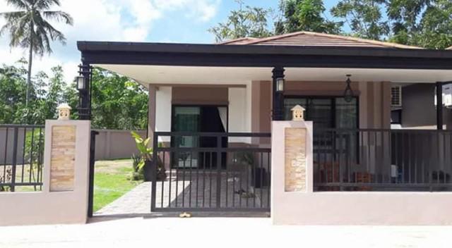 TL-0016 -บ้านเดี่ยวชั้นเดียวให้เช่า มี 2 ห้องนอน 2 ห้องน้ำ 1 ห้องครัว 1 ที่จอดรถ