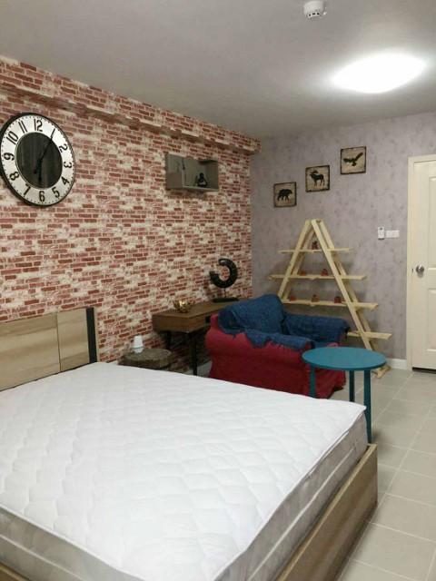 6A101213 ให้เช่าคอนโดมิเนียม 1 ห้องนอน 1 ห้องน้ำ พื้นที่ 30 ตรม.