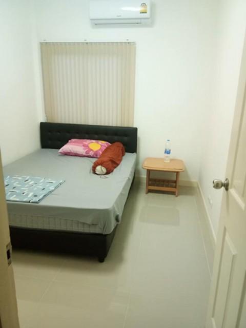 TL-0026 -ทาวน์เฮ้าส์ชั้นเดียวในโครงการให้เช่า มี 3 ห้องนอน 3 ห้องน้ำ 1 ห้องครัว