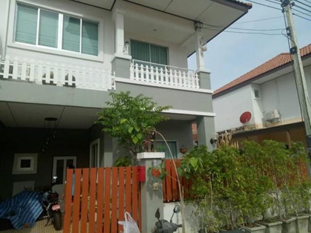 TL-0029 -ทาวน์เฮ้าส์บ้านมุม 2ชั้นให้เช่า มี 3 ห้องนอน 2 ห้องน้ำ 1 ห้องครัว