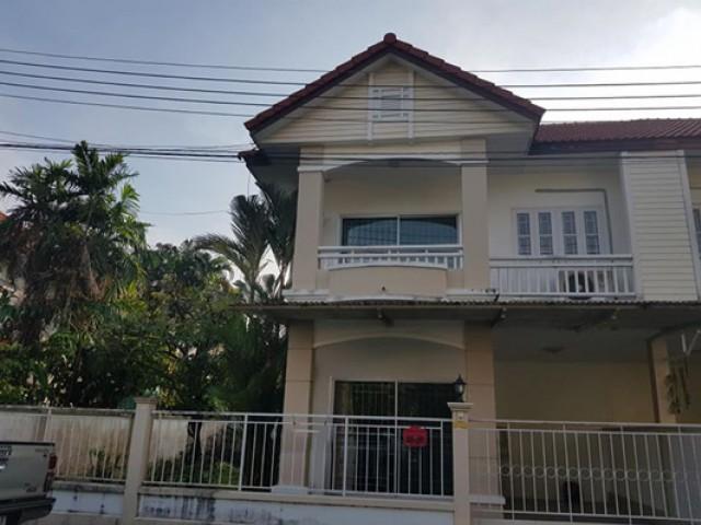 MT-0095 -บ้านแฝด 2 ชั้นให้เช่า มี 3 ห้องนอน 2 ห้องน้ำ 1 ห้องครัว