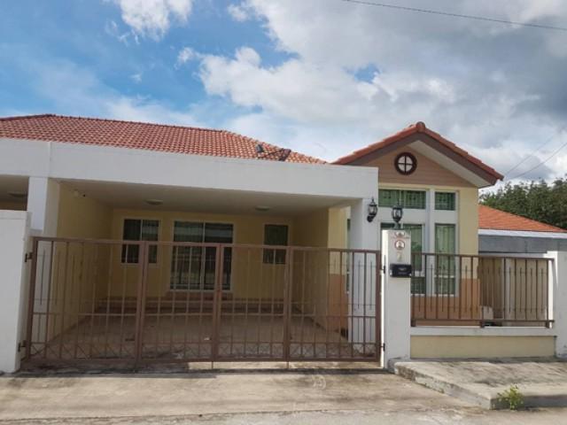 TL-0039 -บ้านเดี่ยวชั้นเดียวให้เช่า มี 3 ห้องนอน 2 ห้องน้ำ 1 ห้องครัว