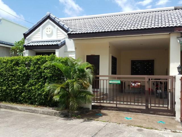 MT-0099 -บ้านเดี่ยวชั้นเดียวให้เช่า มี 3 ห้องนอน 2 ห้องน้ำ 1 ห้องครัว