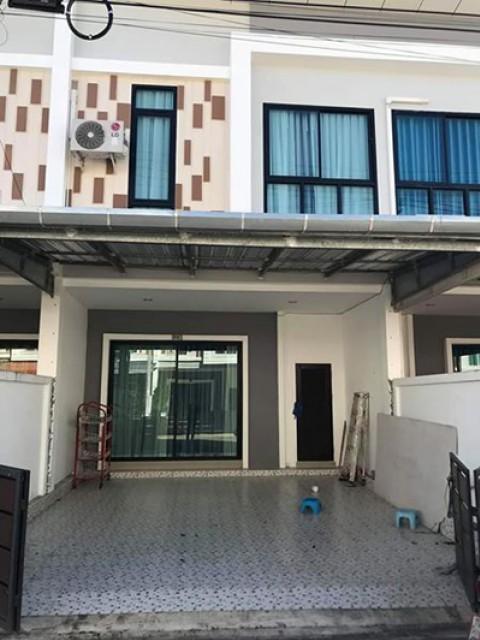 TL-0046 -ทาวน์เฮ้าส์ 2ชั้นให้เช่า มี 3 ห้องนอน 3 ห้องน้ำ 1 ห้องครัว